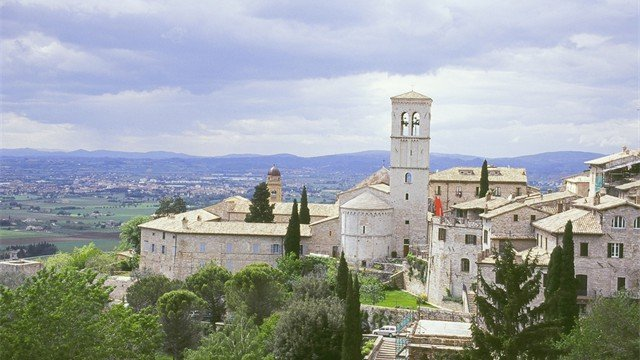 Glorious views from Assisi in Umbria