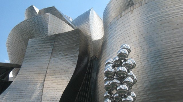 Gaudi, Frank Gehry and many other amazing examples of contempory architecture