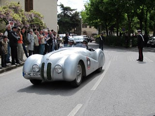 Classic car rally in Tuscany and Umbria