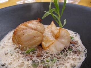Divine dining - Monk fish with tarragon