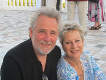 Robbi Zeck and Jim Llewellyn of Aroma Tours