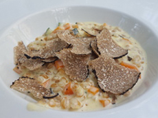 Truffle risotto - divine and tres aromatic