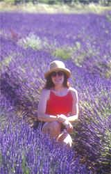 Susan in a purple haze