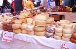 Many wonderful cheeses to delight our taste buds