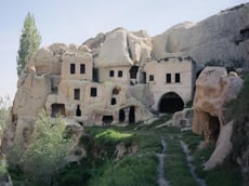 Cave houses in Cappadocia