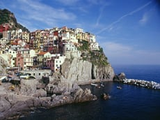 Cinque terre visit on Flavours of Italy tour