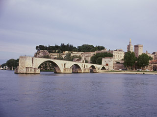 St Benezet bridge in Avignon Provence France