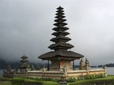 Bali the island of one hundred thousand temples